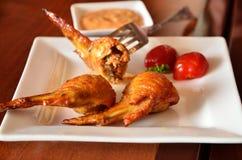 φτερά κοτόπουλου Στοκ Εικόνα