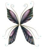 Φτερά νεράιδων με τα κοσμήματα ελεύθερη απεικόνιση δικαιώματος