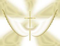 φτερά προσευχής διανυσματική απεικόνιση