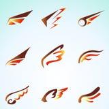 Φτερά πυρκαγιάς Στοκ Εικόνα