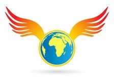 φτερά σφαιρών Στοκ φωτογραφία με δικαίωμα ελεύθερης χρήσης