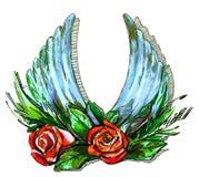 Φτερά της αγάπης ελεύθερη απεικόνιση δικαιώματος