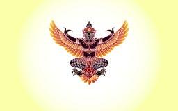 Φτερά Garudas Στοκ Φωτογραφία