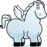 Φτερωτό άλογο κινούμενων σχεδίων Στοκ εικόνα με δικαίωμα ελεύθερης χρήσης