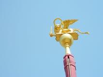 Φτερωτό λιοντάρι, σύμβολο της Βενετίας Στοκ εικόνες με δικαίωμα ελεύθερης χρήσης