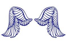 φτερό αγγέλου Στοκ φωτογραφίες με δικαίωμα ελεύθερης χρήσης