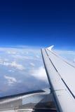 Φτερό αεροπλάνων. Στοκ Εικόνες