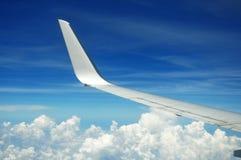 Φτερό αεροπλάνων Στοκ εικόνες με δικαίωμα ελεύθερης χρήσης