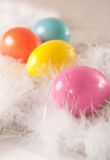 φτερό αυγών Πάσχας ανασκόπησης colorfull Στοκ φωτογραφία με δικαίωμα ελεύθερης χρήσης