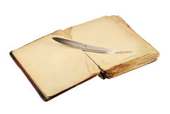 φτερό βιβλίων παλαιό Στοκ εικόνα με δικαίωμα ελεύθερης χρήσης