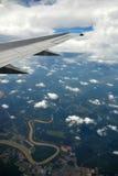 φτερό γήινων αεροπλάνων Στοκ Εικόνα