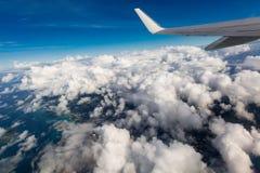 Φτερό ενός αεροπλάνου Στοκ Εικόνες