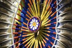 φτερό μαξιλαρακιού Στοκ φωτογραφίες με δικαίωμα ελεύθερης χρήσης