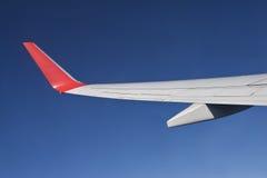 φτερό μπλε ουρανού Στοκ εικόνα με δικαίωμα ελεύθερης χρήσης