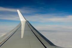 Φτερό στον ουρανό Στοκ Φωτογραφίες