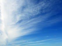 φτερό σύννεφων Στοκ φωτογραφία με δικαίωμα ελεύθερης χρήσης