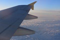 Φτερό του αεροπλάνου Στοκ Εικόνες