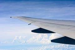 Φτερό του αεροπλάνου Στοκ εικόνες με δικαίωμα ελεύθερης χρήσης