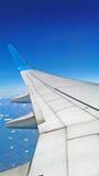 Φτερό του αεροπλάνου Στοκ Φωτογραφίες