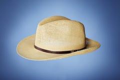 φτηνό άχυρο καπέλων Στοκ Εικόνες