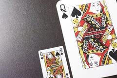 φτυάρια βασίλισσας Στοκ φωτογραφίες με δικαίωμα ελεύθερης χρήσης
