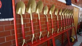 Φτυάρια πυροσβεστών Στοκ Φωτογραφία