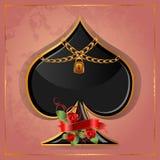 Φτυάρια πόκερ Στοκ Εικόνες