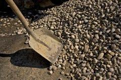 φτυάρι αμμοχάλικου Στοκ Εικόνες