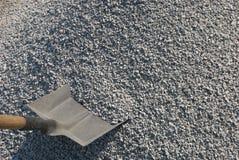 φτυάρι αμμοχάλικου Στοκ Φωτογραφίες