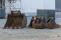 Φτυάρι εκσκαφέων Στοκ εικόνα με δικαίωμα ελεύθερης χρήσης