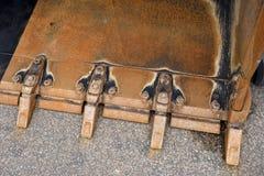 Φτυάρι του εκσκαφέα ή του εκσακαφέα Στοκ φωτογραφία με δικαίωμα ελεύθερης χρήσης