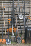 φτυάρι τσουγκρανών Στοκ Εικόνες