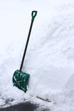 Φτυάρι χιονιού Στοκ φωτογραφία με δικαίωμα ελεύθερης χρήσης