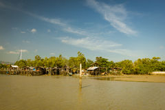 Φτωχή Κοινότητα σε Phuket Στοκ φωτογραφία με δικαίωμα ελεύθερης χρήσης
