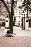 Φτωχοί άνθρωποι στην Ευρώπη στοκ φωτογραφία με δικαίωμα ελεύθερης χρήσης