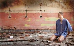φτωχοί ατόμων Στοκ εικόνες με δικαίωμα ελεύθερης χρήσης
