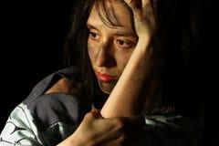 Φτωχό βρώμικο κορίτσι Στοκ φωτογραφία με δικαίωμα ελεύθερης χρήσης