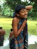 Φτωχό παιδί στοκ εικόνες