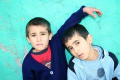 φτωχό πορτρέτο παιδιών στοκ φωτογραφίες