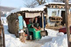 Φτωχό σπίτι Στοκ εικόνες με δικαίωμα ελεύθερης χρήσης