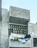 Φτωχό luxor Αίγυπτος μπαλκονιών Στοκ Εικόνες