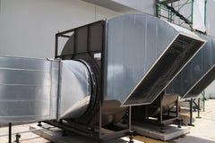 Φυγοκεντρικός βιομηχανικός τύπος ανεμιστήρων αέρα Στοκ Εικόνες