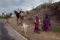φυλές της Ινδίας banjara Στοκ Εικόνες