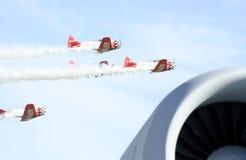 φυλή αεροπλάνων στοκ εικόνα με δικαίωμα ελεύθερης χρήσης