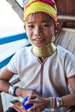 φυλή κοριτσιών padaung Στοκ Φωτογραφίες