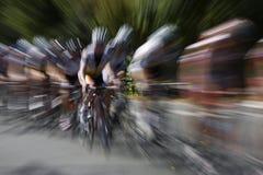 φυλή ποδηλάτων Στοκ φωτογραφίες με δικαίωμα ελεύθερης χρήσης