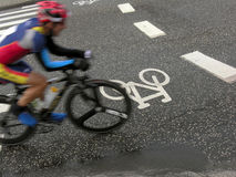 φυλή ποδηλατών ποδηλάτων Στοκ Φωτογραφίες