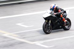 φυλή superbike Στοκ Φωτογραφίες