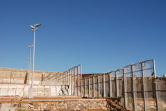 φυλακή προαυλίων Στοκ εικόνες με δικαίωμα ελεύθερης χρήσης