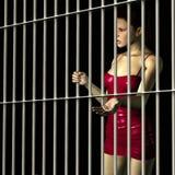 φυλακίστε τη γυναίκα ελεύθερη απεικόνιση δικαιώματος